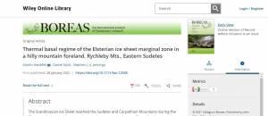 Jesenická geologie na stránkách mezinárodního časopisu