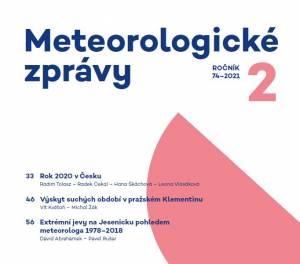 Publikace pracovníků muzea v odborném meteorologickém časopisu