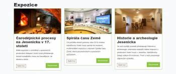 Vlastivědné muzeum Jesenicka zavádí nový rezervační systém