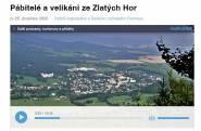 Pábitelé a velikáni ze Zlatých Hor na ČRo Olomouc