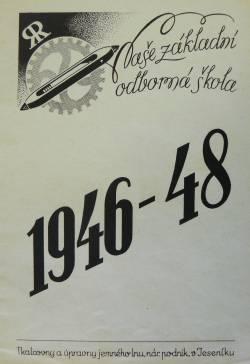 Díl padesátý: Základní odborná škola čs. textilního průmyslu v Jeseníku (část druhá)