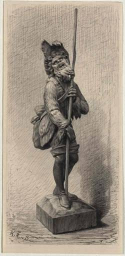 Díl první: Prapodivná historie dřevěné sošky pastýře Gilla