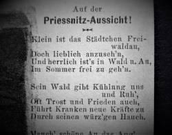 Díl třiatřicátý: Poezie z Priessnitzovy vyhlídky