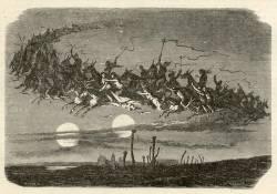 Díl třetí: Z původní jesenické mytologie. Děsivý přízrak Nočního lovce